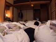 babetie Yuma Asami takes a lot of cocks in a wild orgy.