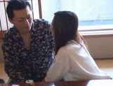 A Double Facial For Maho Uruya After A Threesome picture 12