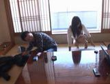 A Double Facial For Maho Uruya After A Threesome picture 5