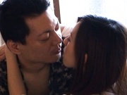 A Double Facial For Maho Uruya After A Threesome