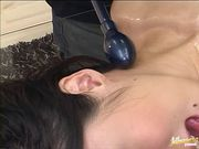 Hot Japanese milf sex toys pussy treatment
