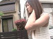 Kinky Japanese teen Manatsu Yumeka is drilled in 69 position