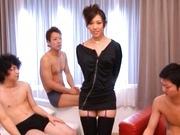 Wild Orgy with Tomoka Minami