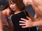 Akina Japanese model gets a hard fucking