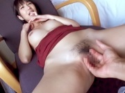Amateur bimbo Hikari enjoys POV hardcore on camasian babe, asian anal}