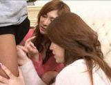 Natsu Ando And Seira Moroboshi Enjoy A Foursome picture 10
