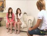 Natsu Ando And Seira Moroboshi Enjoy A Foursome picture 4