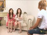 Natsu Ando And Seira Moroboshi Enjoy A Foursome picture 5