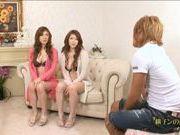 Natsu Ando And Seira Moroboshi Enjoy A Foursome