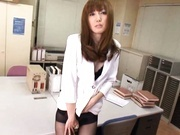 Yui Igawa Has Two Guys Ready To Give Her A Creampie