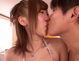 Big Breasted Mei Kago Has Two Guys Fucking Her Holes