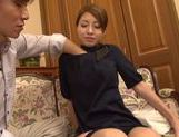 Amazing Asian milf Risa Mizuki in doggy style  picture 11