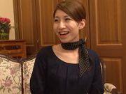Amazing Asian milf Risa Mizuki in doggy style