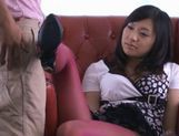 Nana Ogura super hot foot job! picture 9