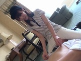 Amazing rider Memori Shizuku dominates her lover rides his boneryoung asian, cute asian, asian ass}