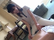 Amazing rider Memori Shizuku dominates her lover rides his bonerasian schoolgirl, asian ass}