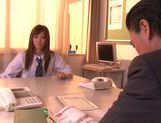 Teen Rina Kato Fucked By Her Teacher On Top Of His Desk picture 2