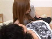 Big Titted Rider Natsu Ando Fucks Her Lover Silly