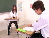 Horny teacher Natsume Inagawa enjoys true sex