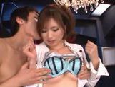 Japanese hottie fucked hard doggstyle picture 12