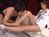 Japanese hottie fucked hard doggstyle picture 4