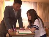 Teacher Gives Schoolgirl Rina Kato His Dick In Class