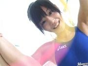Yuri Haruki in a swimsuit looking fucking hot!