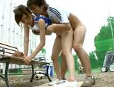 Outdoor fucking with a teen cheerleader Rin Sakuragiasian girls, asian anal}