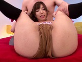 Busty Teen Yui Fujishima's Clit Vibrated As She's Fucked picture 14