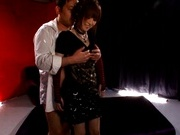 Kanon Imai wearing a dog chain and gets fucked in tons of different positions
