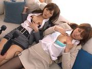 Hot Riho Nanase gets pounded in hardcore threesomeasian chicks, asian schoolgirl}
