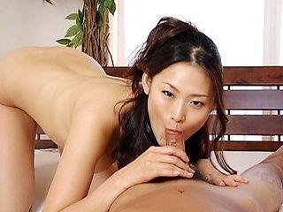 A hot cock sucking POV style starring hot milf Risa Murakami.