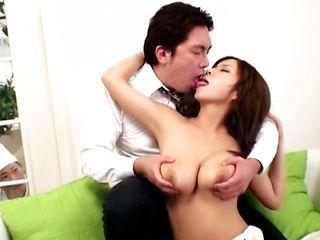 Sumire Matsu hot big tits fucking!