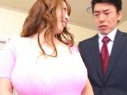 Hitomi Tanaka Asian babe has huge Japanese tits
