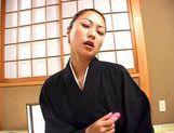 Marie Sugitomo Takes A Deep Drilling In A Kimono picture 15