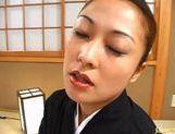 Marie Sugitomo Takes A Deep Drilling In A Kimono