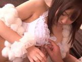 Hot Teen Yuuka Sakai Pops Out Of A Box To Fuck Her Man picture 7