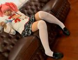 Chika Arimura sexy Asian chick in cosplay sex show picture 8
