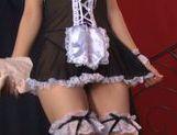 Sexy maid Aozora Yamakawa loves hard sex