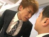 Mayu Kamiya gets cum in mouth with orgasm joy picture 12
