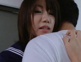 Teen Chika Sena Fucked Up Her Schoolgirl Uniform Skirt