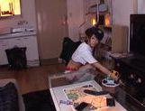 Nice Japanese teen Nanami Kawakami doggystyle