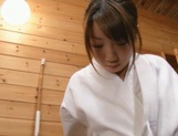 Chika Sena's Narrow Teen Twat Fucked By A Guy's Vibrator
