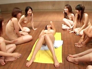 Crazy Japanese Orgy Ends With A Creampie Finale