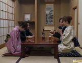 Mio Okazaki and Uzushino hot Asian gangbang picture 11
