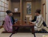 Mio Okazaki and Uzushino hot Asian gangbang picture 12