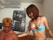 Tomomi Ayukawa hot hardcore action