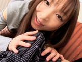 Emiru Momose sucking on cock like crazyjapanese pussy, asian babe, asian women}
