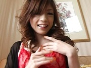 Yume Imano In Red Lingerie Take A Deep Drilling