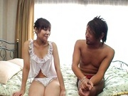 Nice teen Natsumi likes it hard and doggy-style!